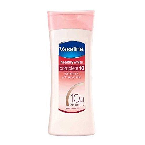 2 X Vaseline Healthy White Complete 10 Lightening Body Lotion 100ml(pack of 2) - Styledivahub…