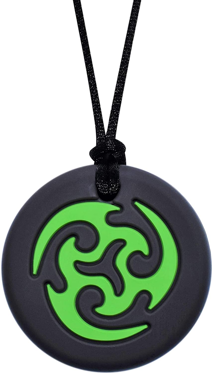 Munchables Ninja Star Sensory Chew Necklace (Green)