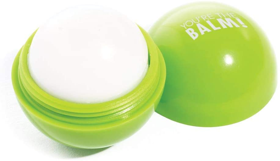 Lip Moisturizer Sphere, Green, You're The Balm! - 3 Count