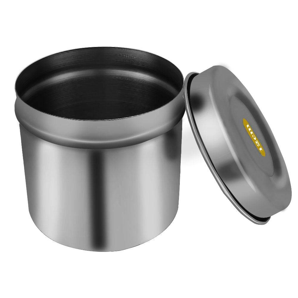 Stainless Steel Disinfection Box, Alcohol Disinfection Stainless Steel Beaker Tattoo Tank Container Cotton Disinfection Alcohol Container for Cleaning(4#)