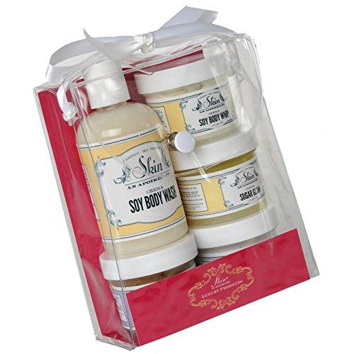 Skin An Apothecary Super Sampler Gift Set, Santorini