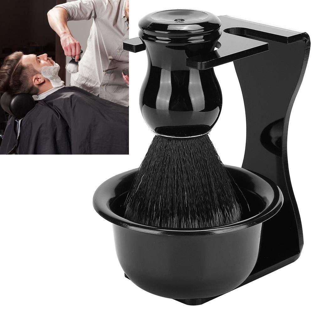 Shaving Kits, Men's Shaving Kit, 3pcs Beard Shaving Brush Bowl Holder Men Beard Cleaning Face Hair Style Tool Set Men Beard Shaving Tool for Men