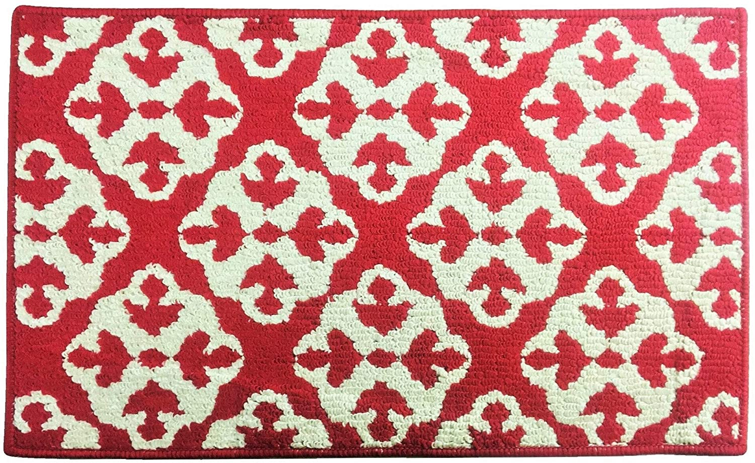 Fashion Medallion Pattern Rug, Non-Skid Home, Kitchen, Floor Mat, Comfortable Standing and Entrance Rug, 17