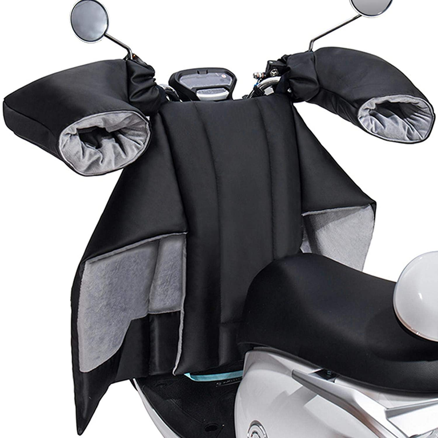 Xiaoling Motorbike Cover Scooter Leg Cover, Leg Lap Apron Cover, Thickened Windproof Warm Cover for Motorcycle,Warm Keeping Cotton Shield