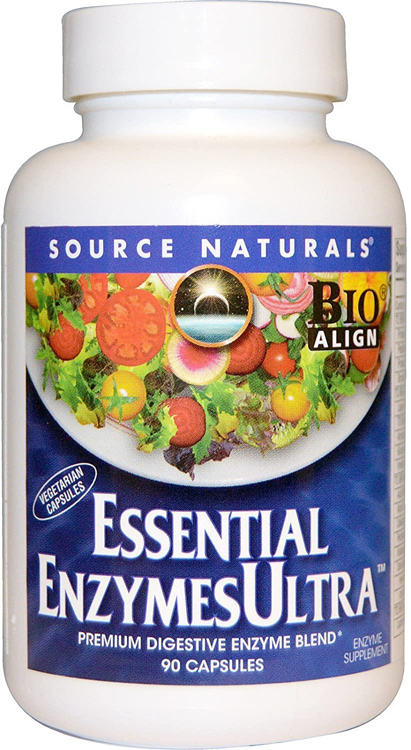 Source Naturals: Essential EnzymesUltra 90 Vegetarian Capsule