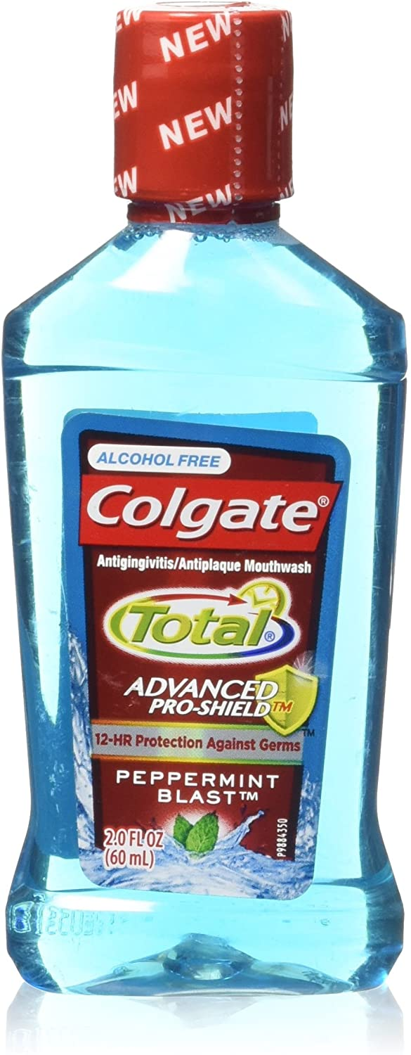 Colgate Total Mouthwash Trial, Peppermint, 4.2 Pound