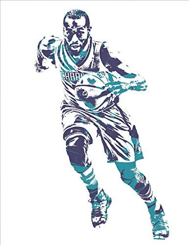 Kemba Walker Poster Print, Basketball Player, Artwork, Posters for Wall, Canvas Art, Kemba Walker Decor, Wall Art, No Frame Poster, Original Art Poster Gift Size 24 x 32 Inches