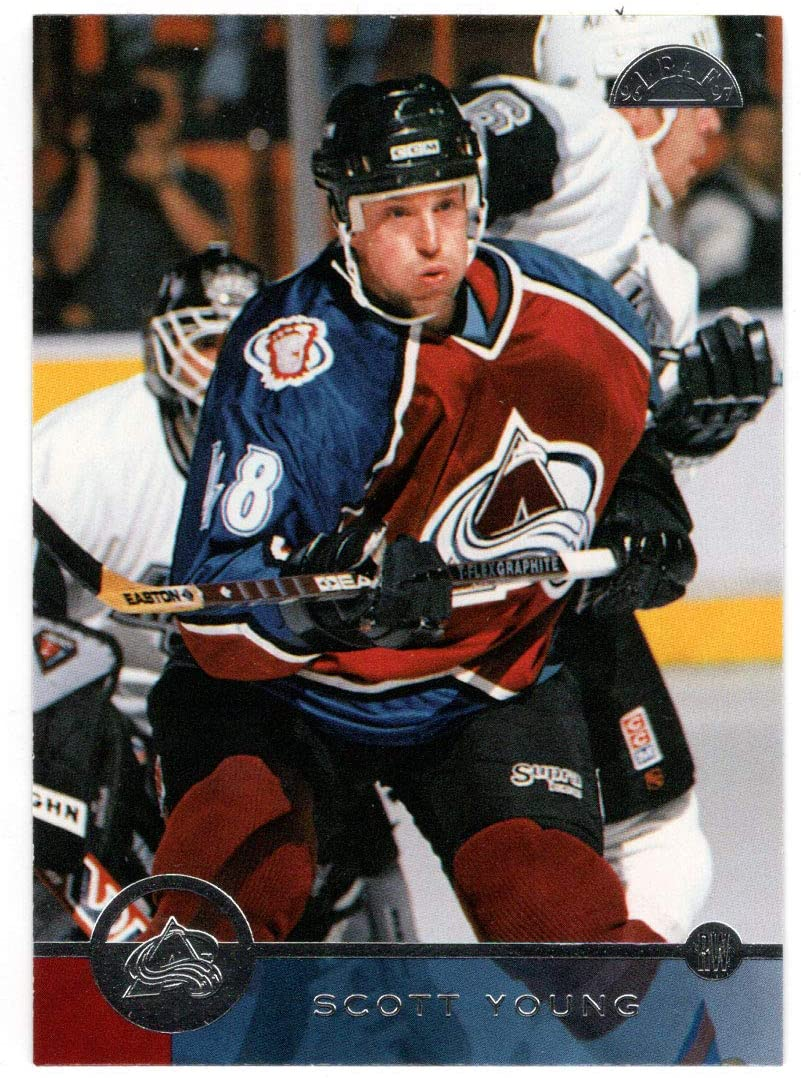 Scott Young - Colorado Avalanche (Hockey Card) 1996-97 Leaf # 181 Mint