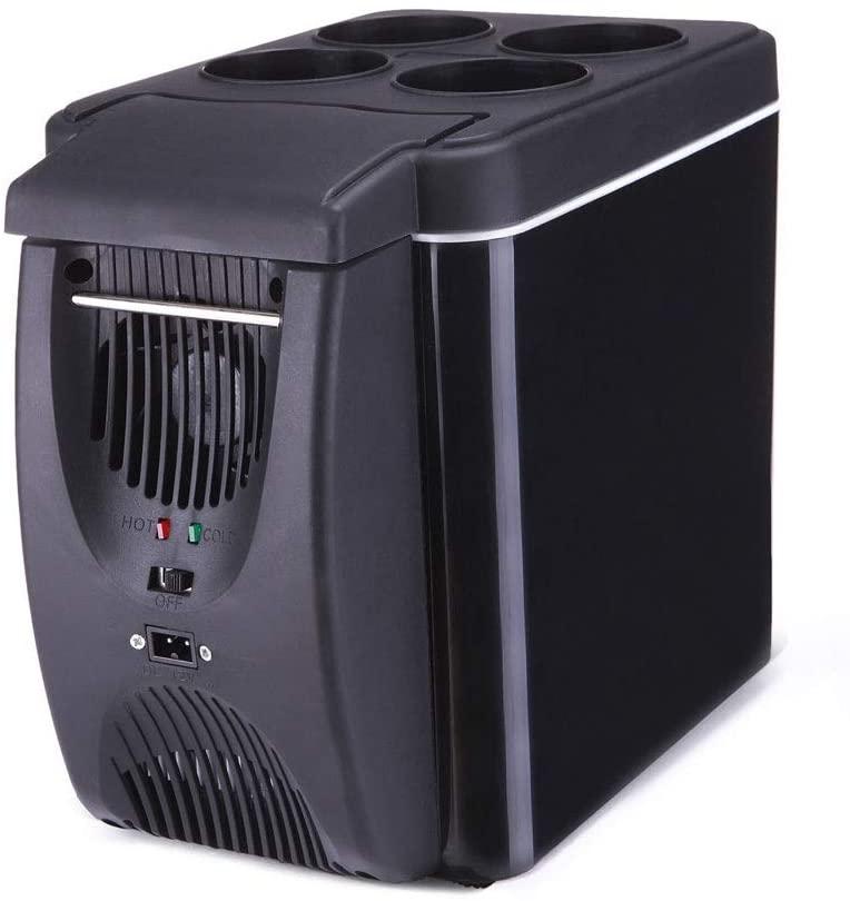 Aouiopkiobingx Mini Fridge, 9L Mini car Fridge Portable Compact CoolerWarmer for Cars, Homes, Offices, and Dorms.