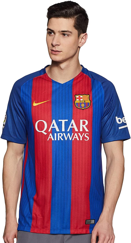 Nike FC Barcelona Home Soccer Jersey- 2016/17 (with Sponsor)