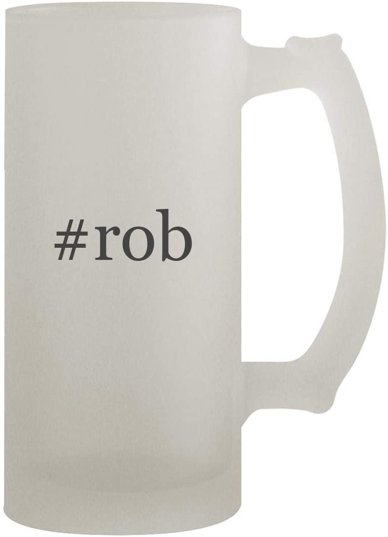 #rob - 16oz Frosted Beer Stein, Frosted