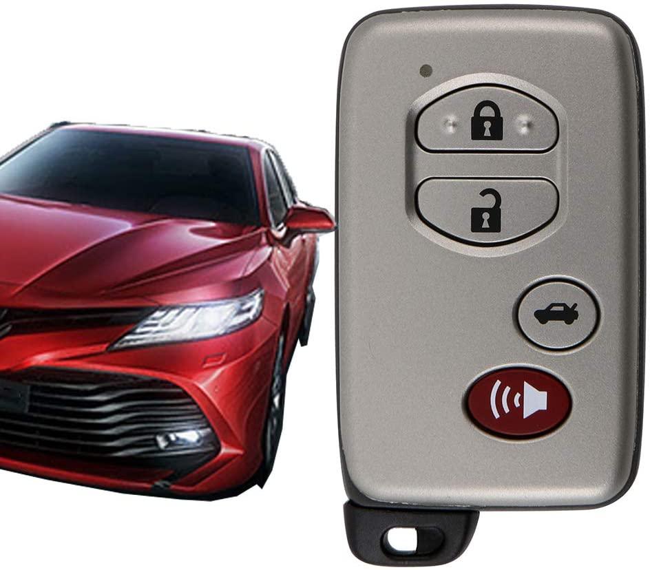 VOFONO Fit for OEM 2006-2010 Toyota Avalon, 2007-2009 Toyota Camry Flip Key Fob Keyless Entry Remote (FCC ID: HYQ14AAB, P/N: 271451-0140, 89904-06041) 0140