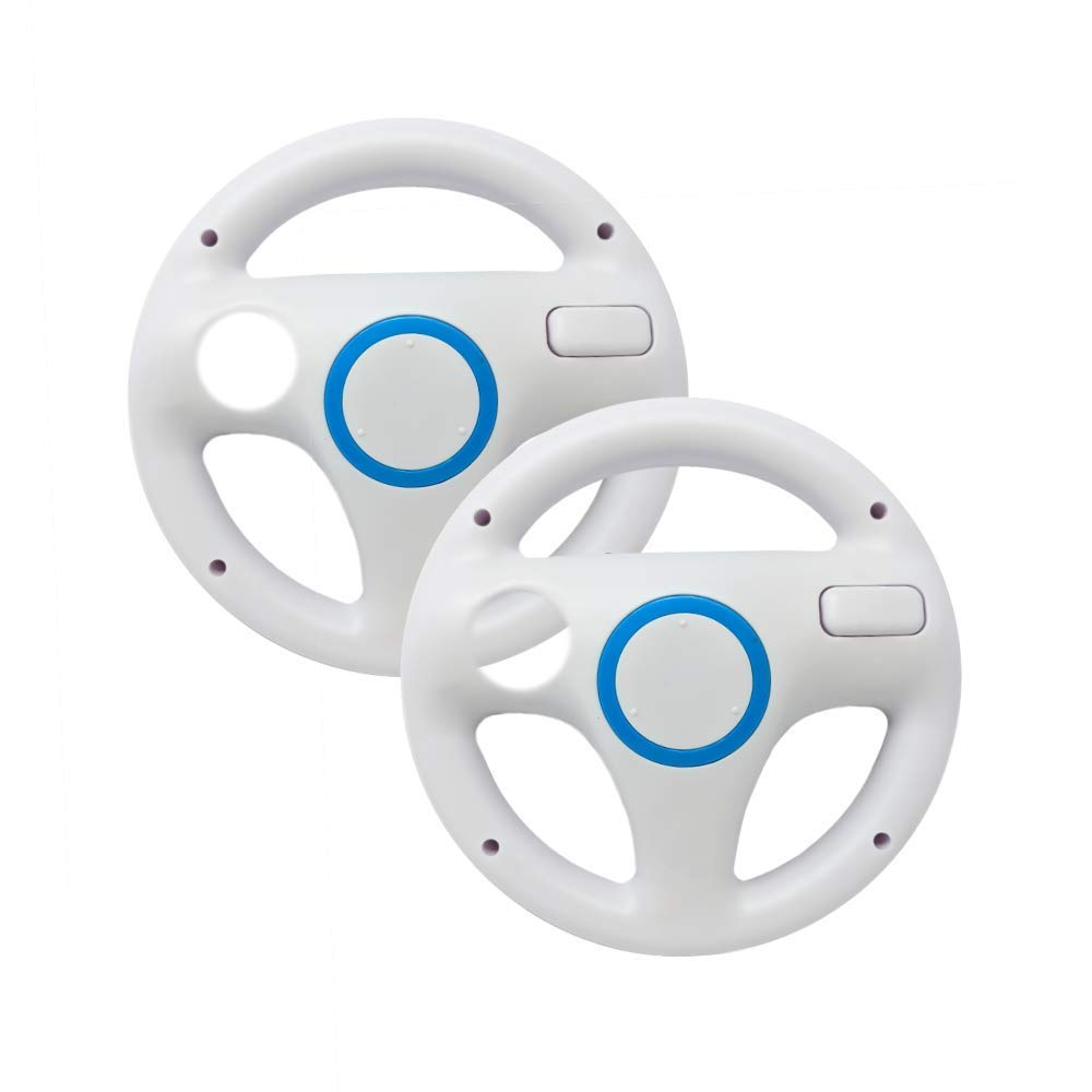 2-pack Mario Kart Steering Wheel,GAME steering wheel for Nintendo Wii