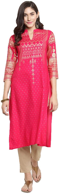 Henith Collection Ready to Wear Women Cotton Printed Design Kurta Kurta with Palazzos & Trousers Set