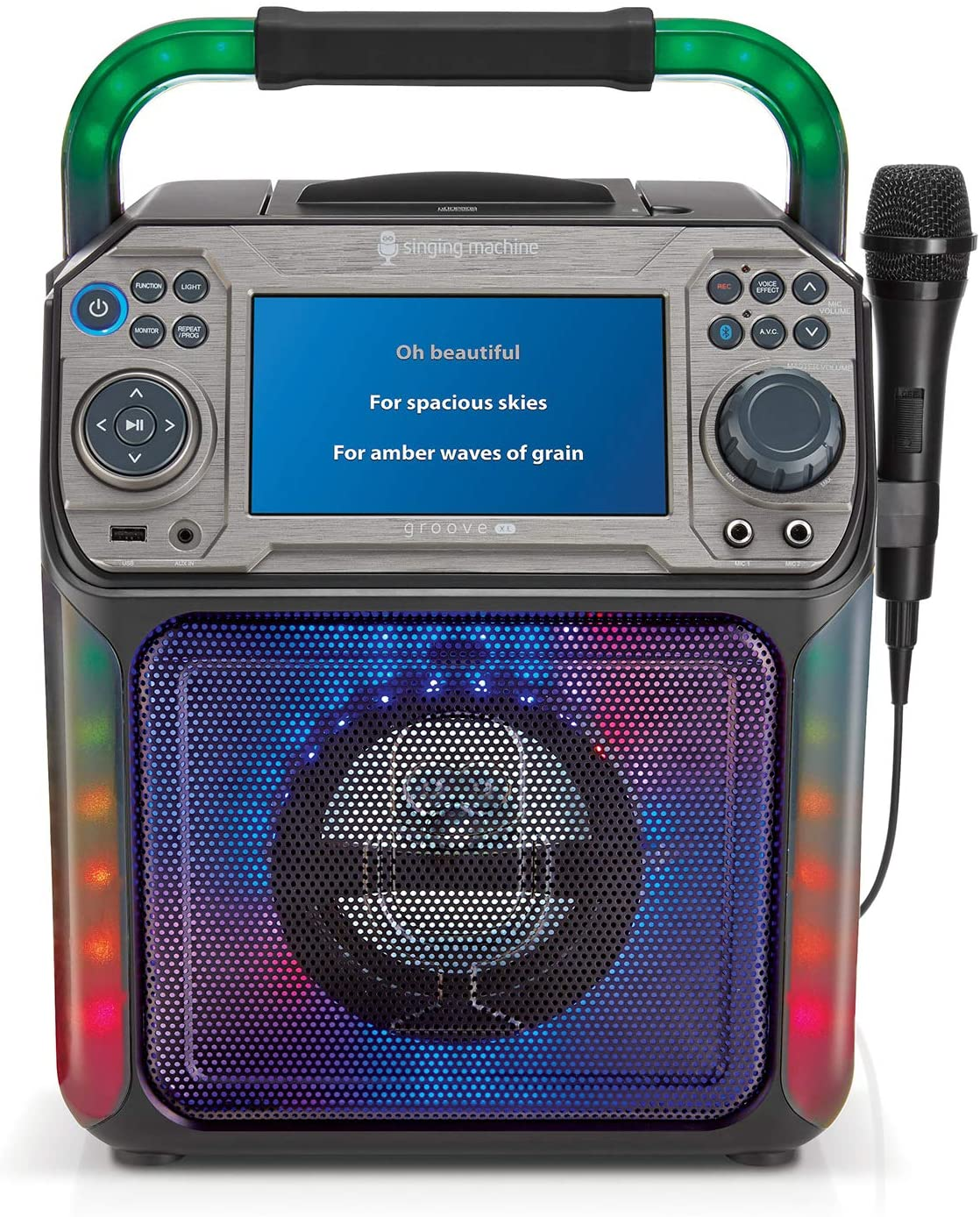 Singing Machine Groove XL - Black Karaoke System (STVG782BK)