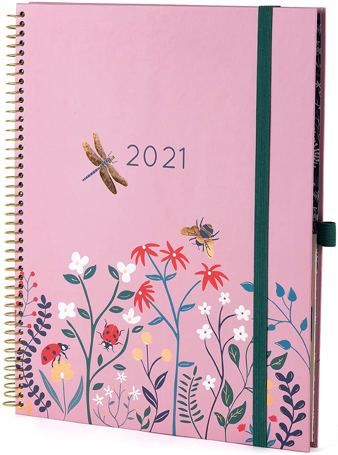 New for 2021! Boxclever Press Planner 2021 8.5 x 11. Weekly Planner with Tabs Runs Jan - Dec'21. Goal Inspired 2021 Planner with dot Grid Note Pages & Planner Stickers. (Strawberry Dawn)