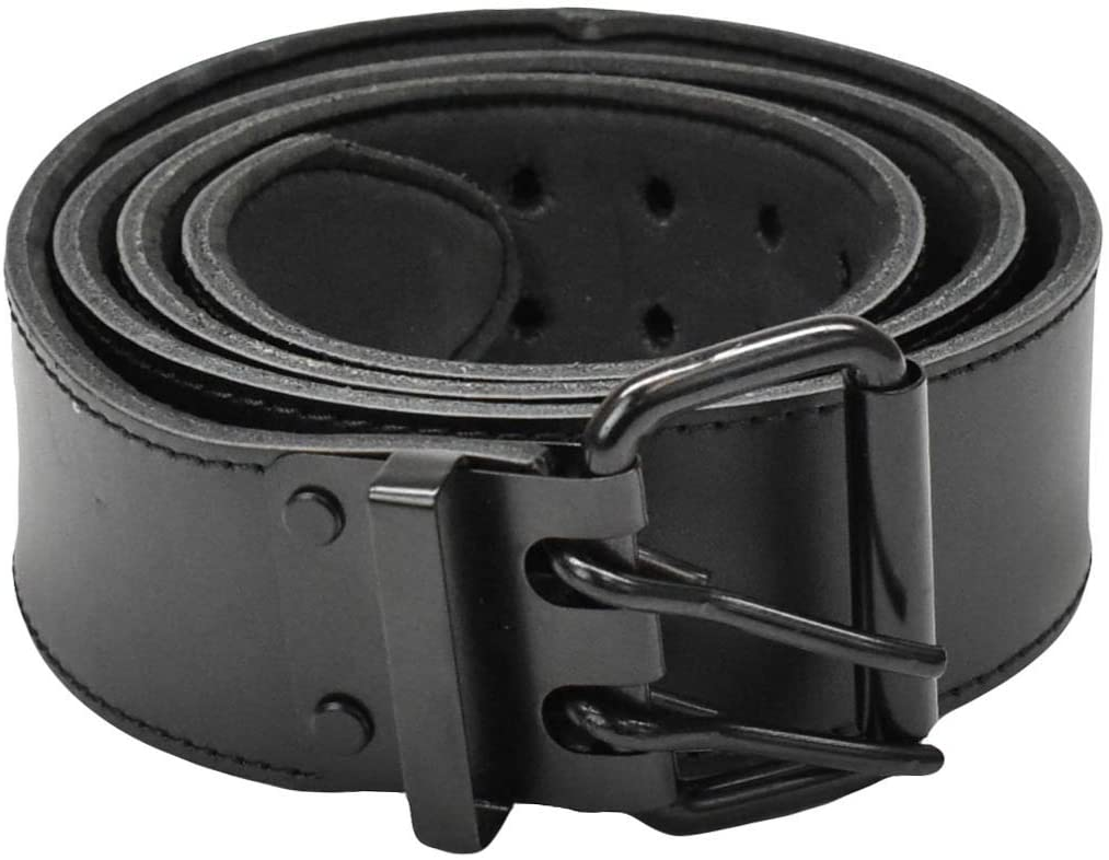 A&A Workgear Leather Tool Belts - EVA Padded - Heavy Duty Cowhide Leather (2 Inch | 42
