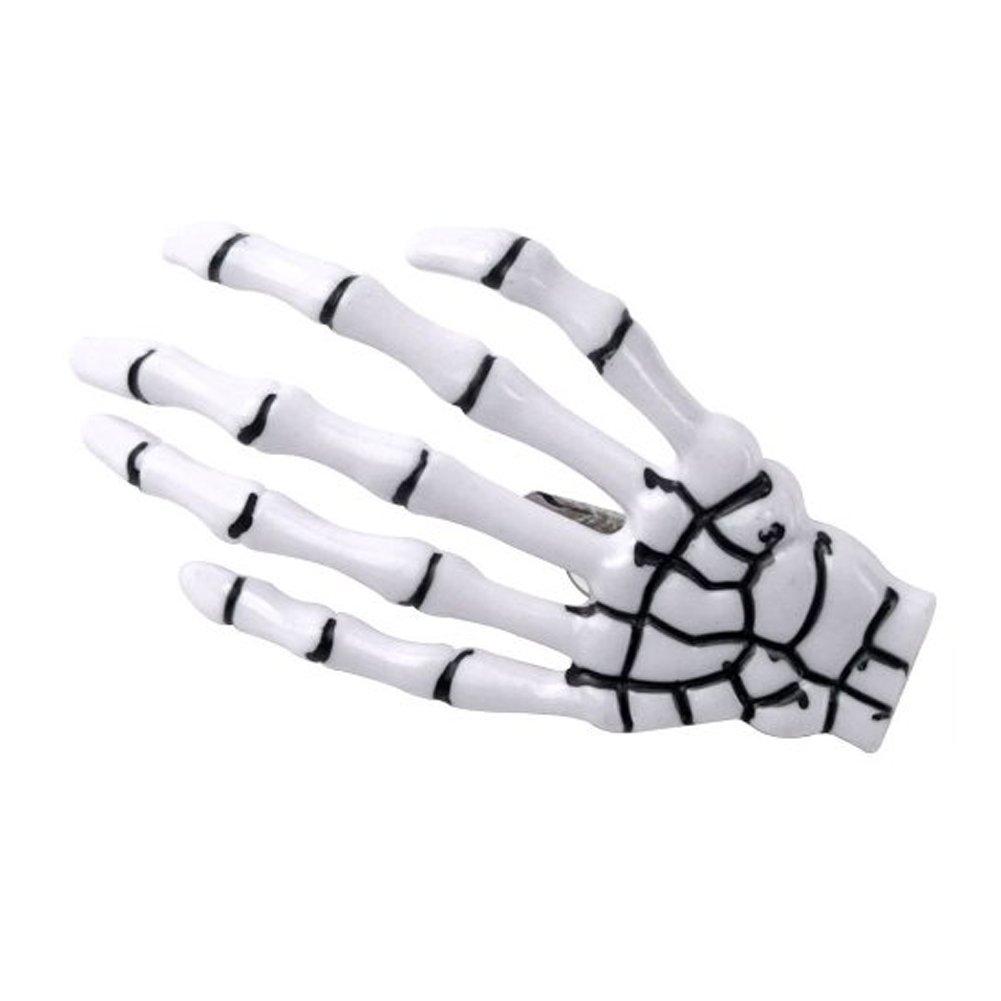 15pcs Punk Rock Devil Skeleton Hand Claw Hair Clips Hair Pins #2