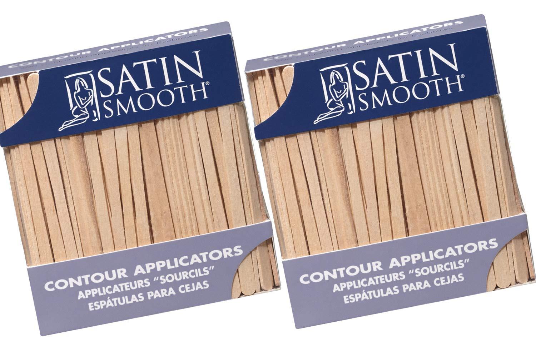 Satin Smooth Contour Applicators 200 ct x 2 packs