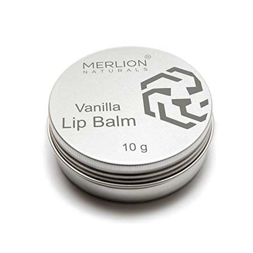 Merlion Naturals 100% Natural Moisturizing Lip Balm, Ultra Conditioning with Cocoa Mint, Shea Butter & Cocoa Butter, 10g