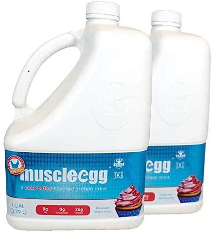 2 Gallons Cake Batter MuscleEgg Liquid Egg Whites