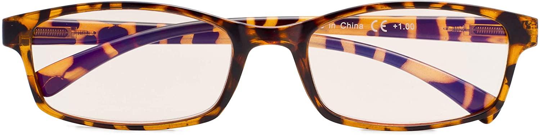 Blue Light Filter Glasses,Reduce Eyestrain Readers Reading Eyeglasses Women Men