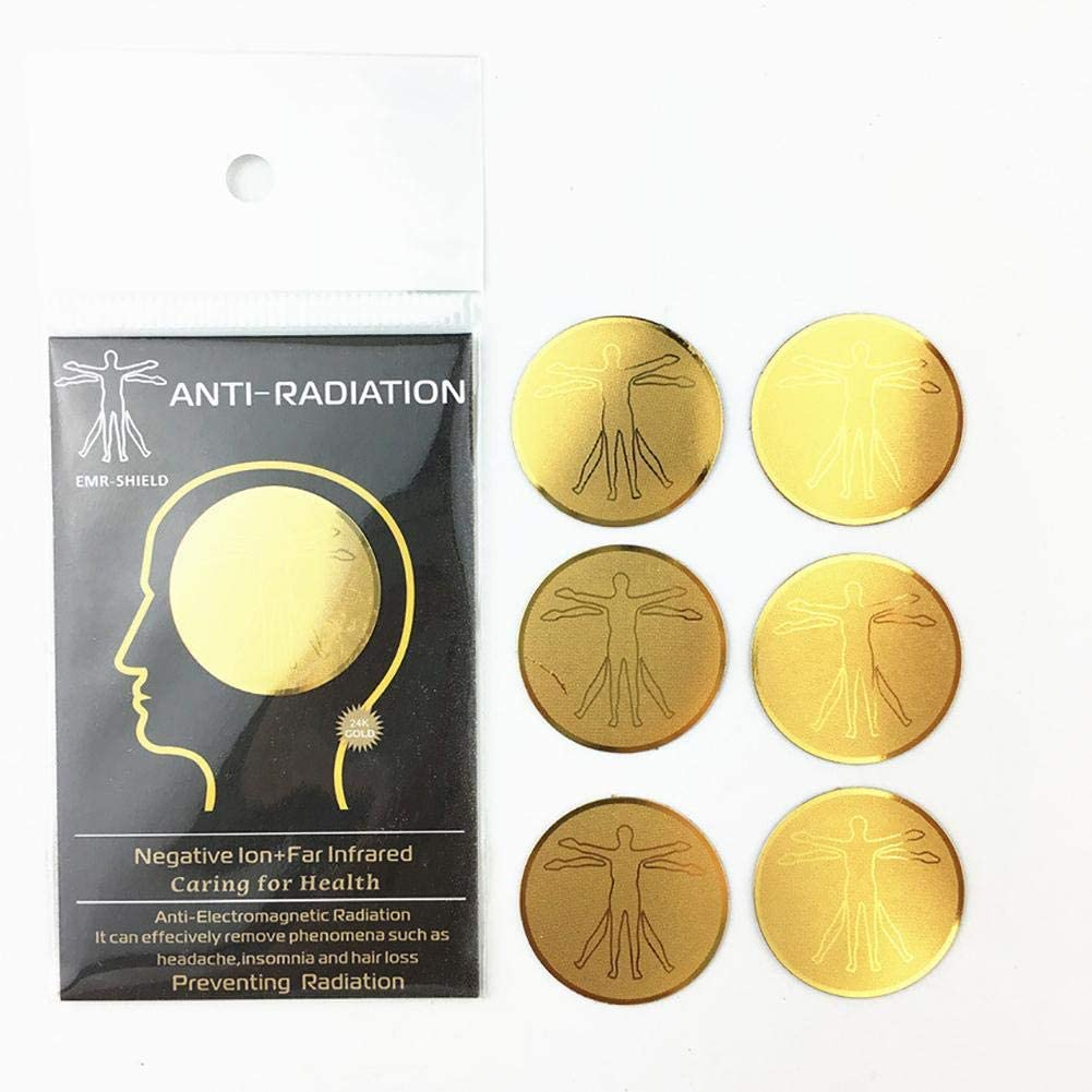 NMSLA Anti Radiation Stickers for Phone Anti Radiation Protector Sticker Negative Ions EMF Blocker