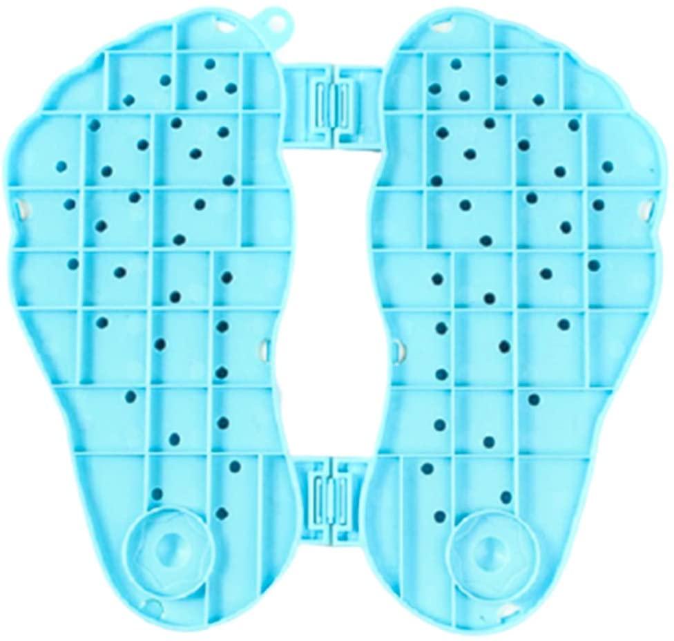Solustre Foot Acupressure Mat Foot Massage Mat Blood Circulation Mat Foot Point Massager for Foot Pain Relaxation