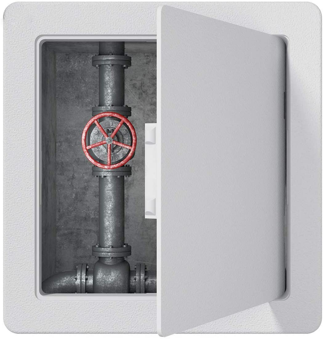 MaRoner Plumbing Access Panel for Drywall Ceiling 4 1/4