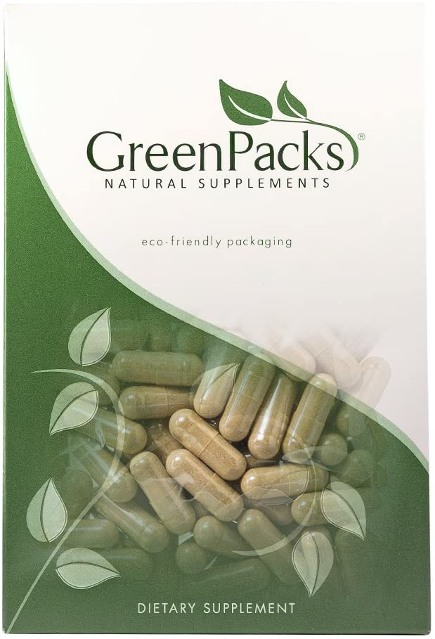 GreenPacks® Hawthorn Extract (High-Potency) Supplement - 90 Capsules