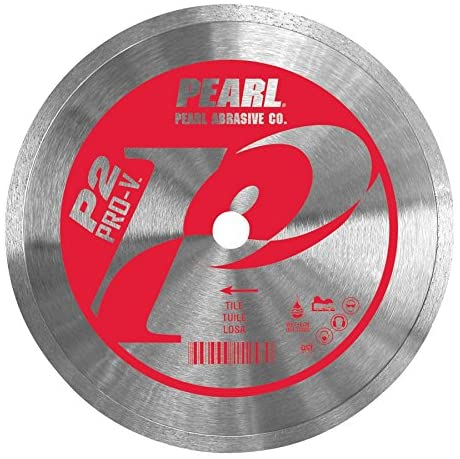 Pearl Abrasive P2 Pro-V PV008CT Continuous Rim Blade for Tile 8 x .060 x 5/8