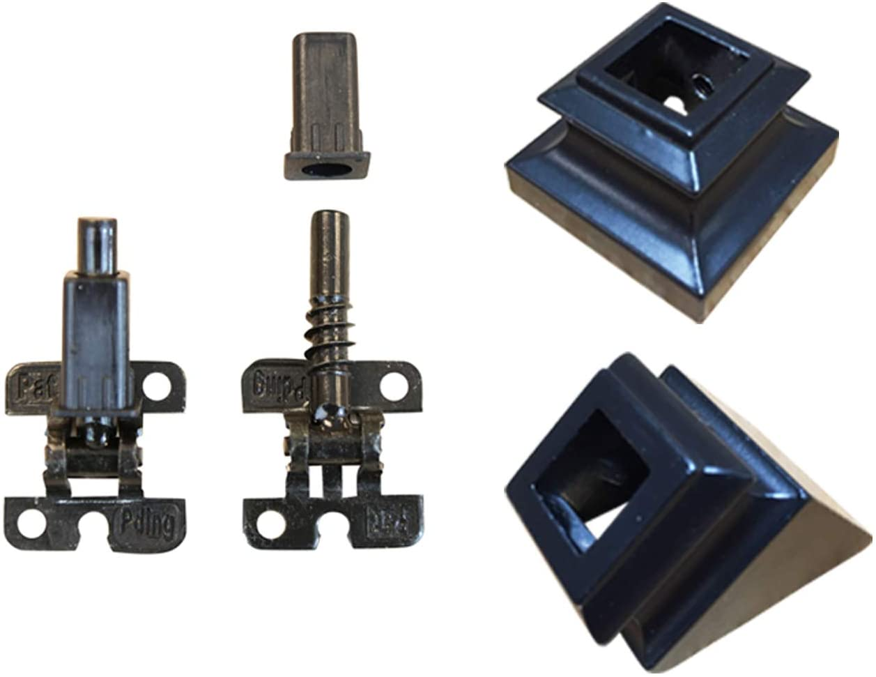 Adjustable Angle Connectors with Shoes for Easy Installation of 1/2