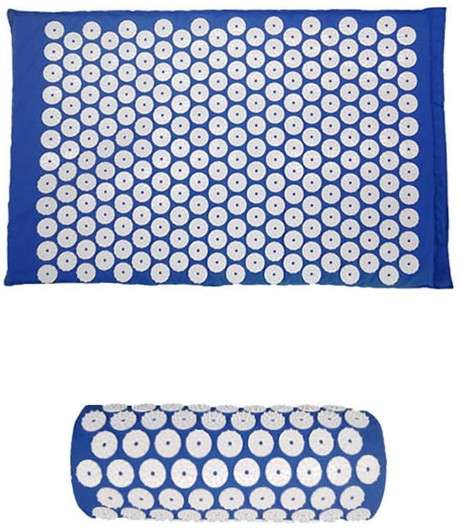 SEADEAR Kit Acupressure Mat with Pillow, Massage Cushion Mat with Bag, Acupuncture Yoga Mat, for Yoga Pain Treatment Tensions
