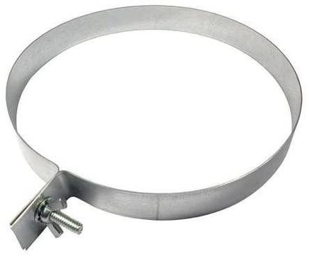 Duct Hanger, Round, 7 In, 20 Gauge Steel, (Pack of 5)