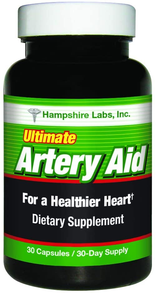 Ultimate Artery Aid for Heart Health Support. Addresses Age-Related Related Circulation and Artery Issues. Promotes Clean and Supple Arteries. 30 Day Supply.