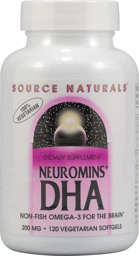 DHA Neuromins 200mg Source Naturals, Inc. 120 Softgel