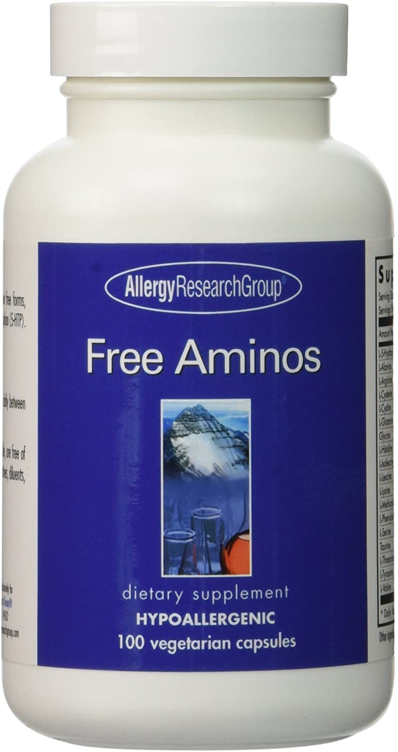 Allergy Research Group Free Aminos 100 Vegetarian Caps