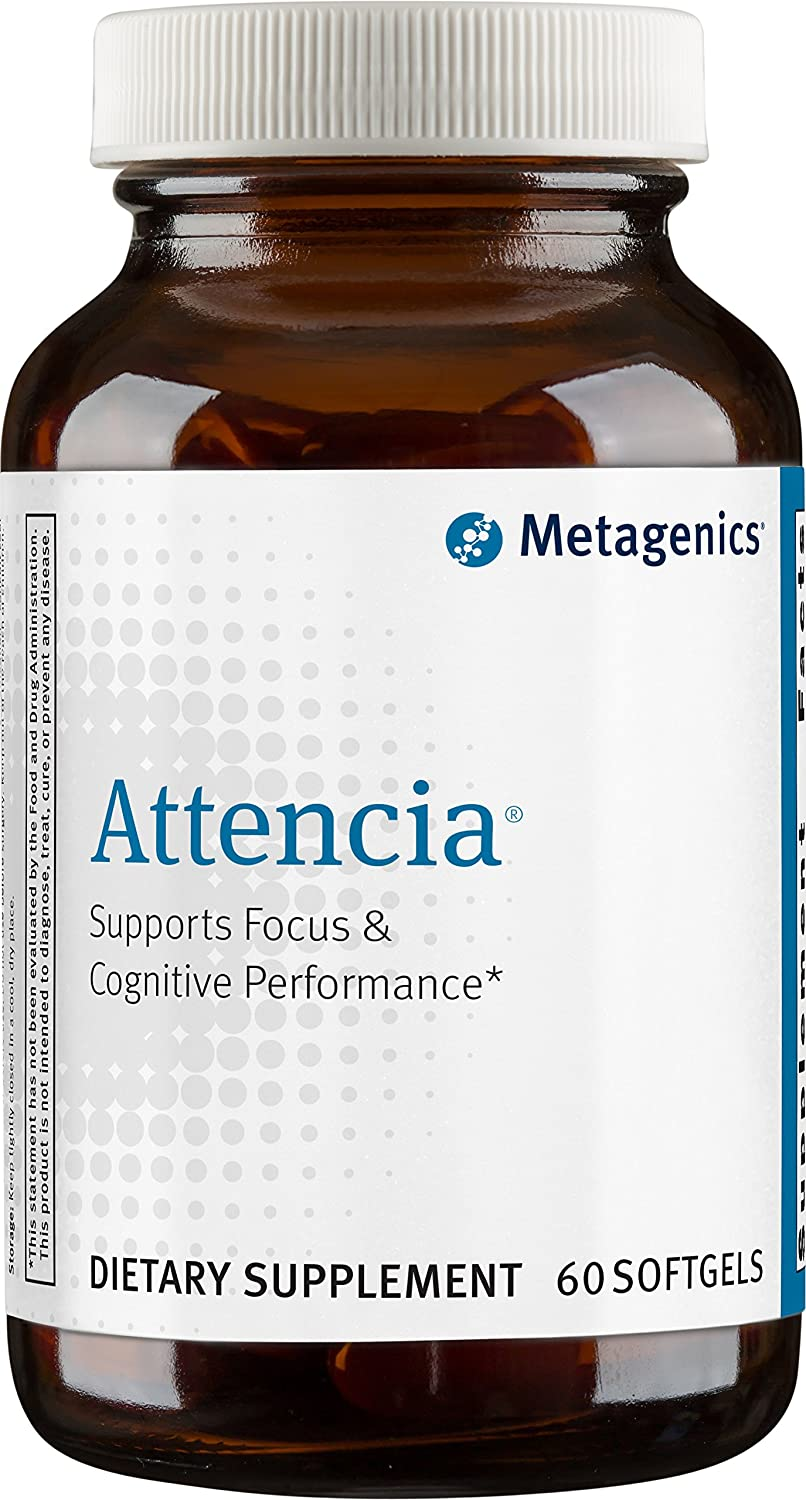 Metagenics - Attencia, 60 Count