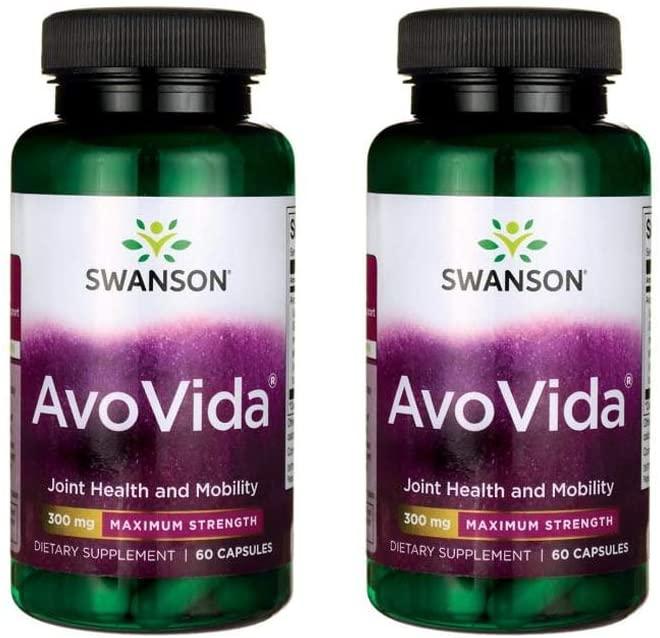 Swanson Avovida - Maximum Strength 300 mg 60 Caps 2 Pack