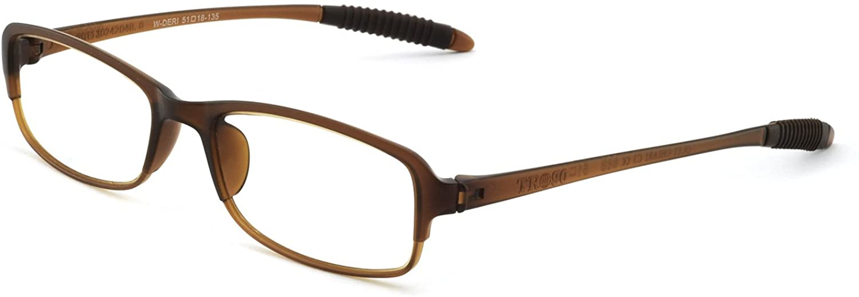 OCCI CHIARI Mens Reading Glasses Acetate Fashion Rectangular lightweight