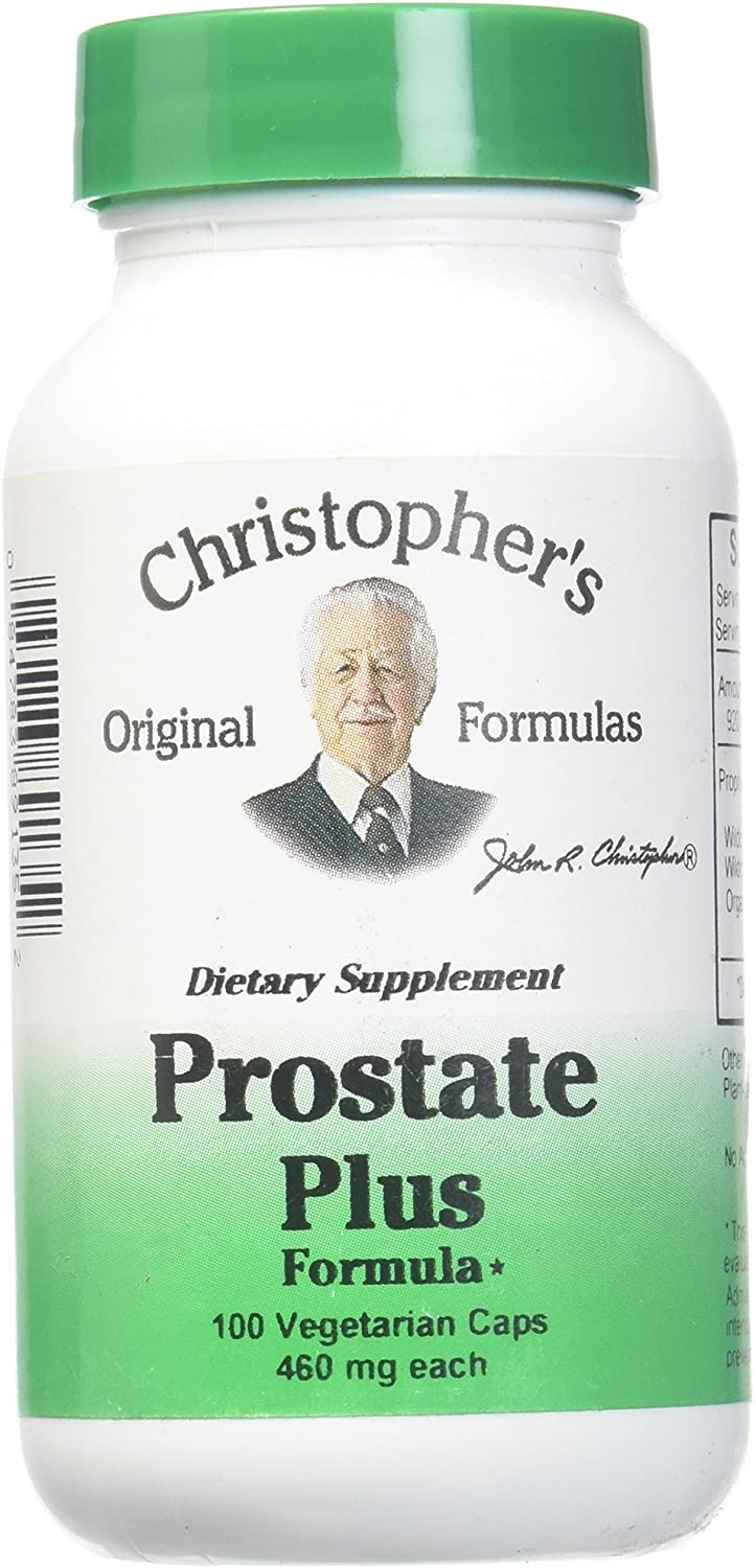 Christopher's Original Formulas Prostate Plus Formula, 100 Count