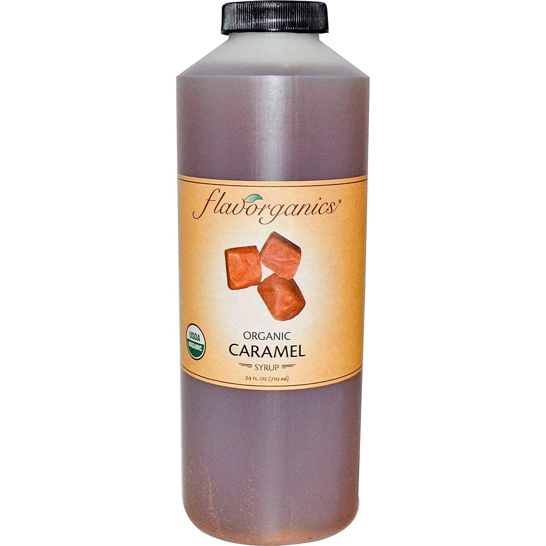 FLAVORGANICS Organic Caramel Syrup, 24 FZ