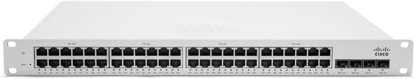 Cisco Meraki MS320-48FP L3 Cloud Managed 48-Ports GigE 740W PoE+ Switch [PN: MS320-48FP-HW]