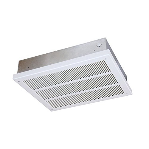 Qmark 4,000/2,000W @ 277V Heavy-Duty Ceiling Mounted Heater, Fan Forced EFF4007