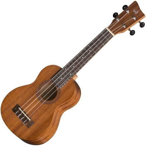 GEWA Sopran ukulele Manoa K-SO Sopran Sapelli silk Matt finish with Gig Bag