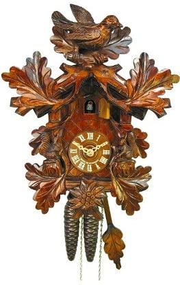 August Schwer Cuckoo Clock Bird, Squirrel