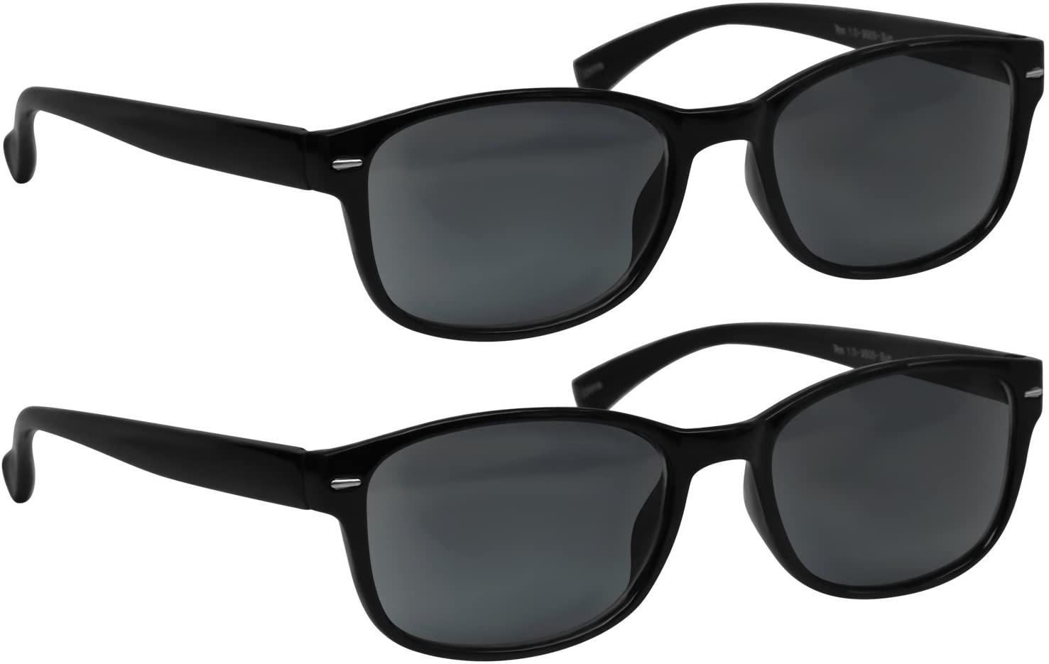 Reading Sunglasses - HP9505-2 Pack -2 Sun Black - 2.00