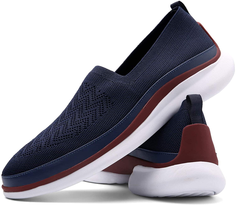 Flagama Basic Mesh Slip on Walking Shoe Loafers | Mens Casual Sneaker