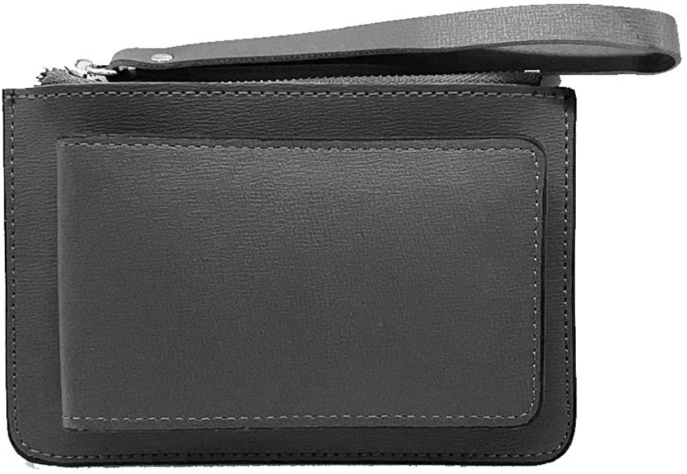 Earnda Women's Small Wallets Fold Credit Card Case Coin Purse with Wrist Lanyard