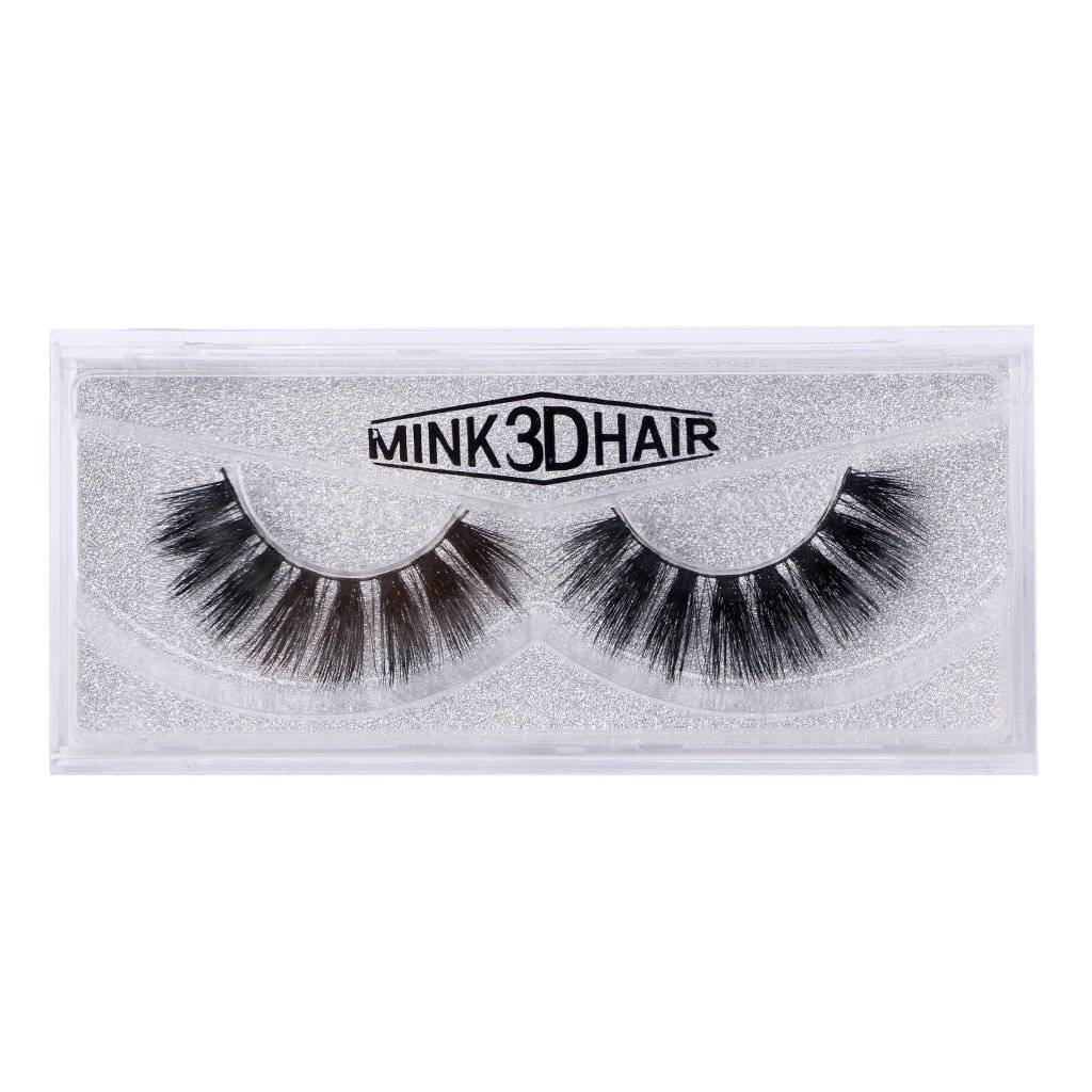 lipiny New Long Soft 3D Makeup Natural Thick Eye Lashes Mink Extension False Eyelashes